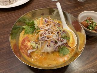 ジョナサン盛岡冷麺トムヤムスープ仕立て